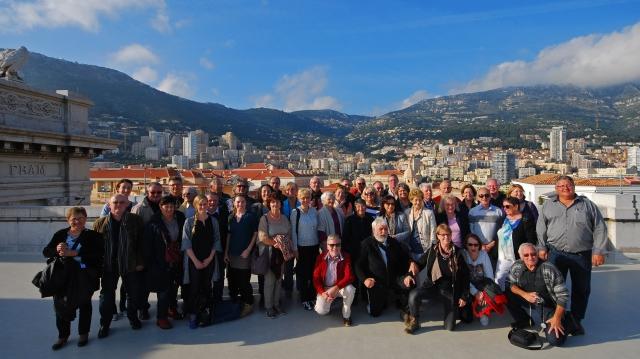 Über die Dächer von Monaco_Gruppenfoto